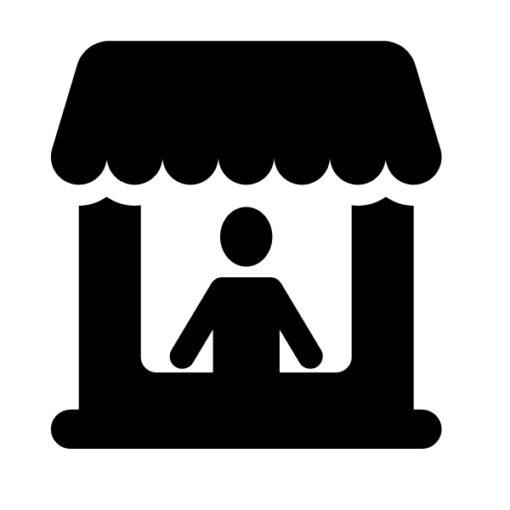 single vendor booth