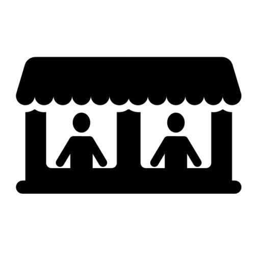 double vendor booth